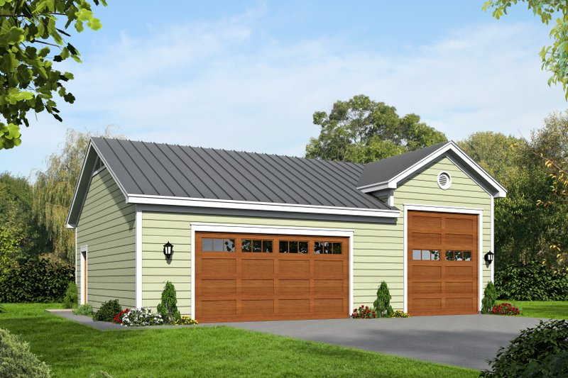 Country Exterior - Front Elevation Plan #932-141