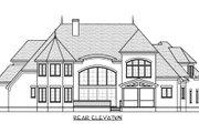 European Style House Plan - 4 Beds 4.5 Baths 4926 Sq/Ft Plan #413-863