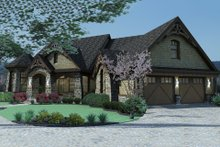 House Plan Design - Craftsman Exterior - Front Elevation Plan #120-165