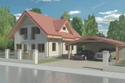 Traditional Style House Plan - 3 Beds 2 Baths 1521 Sq/Ft Plan #906-24 Photo