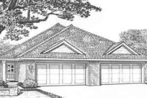 Traditional Exterior - Front Elevation Plan #310-440