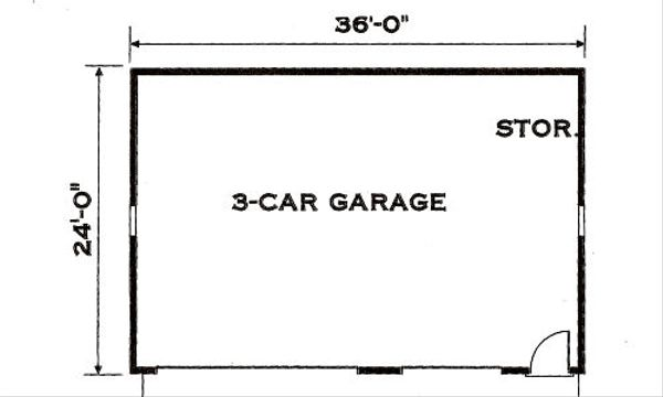 Southern Floor Plan - Other Floor Plan Plan #3-216