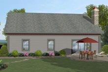 Craftsman Exterior - Rear Elevation Plan #56-704