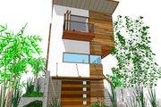 Modern Style House Plan - 3 Beds 3 Baths 1505 Sq/Ft Plan #484-3