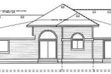 Home Plan Design - Traditional Exterior - Rear Elevation Plan #92-108
