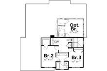 Craftsman Floor Plan - Upper Floor Plan Plan #20-2154