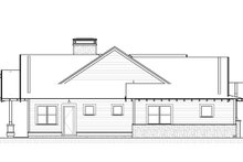 Craftsman Exterior - Other Elevation Plan #895-86
