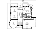 European Style House Plan - 5 Beds 3 Baths 5609 Sq/Ft Plan #25-4690 Floor Plan - Main Floor Plan