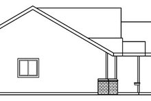 Architectural House Design - Traditional Exterior - Other Elevation Plan #124-376