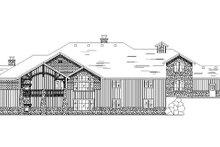 Craftsman Exterior - Rear Elevation Plan #5-469