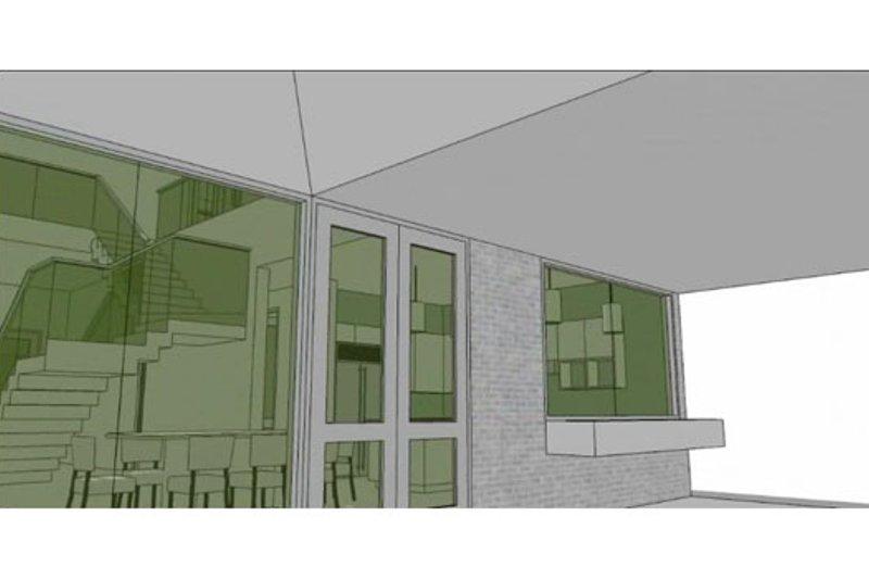Modern Photo Plan #64-206 - Houseplans.com