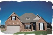 Traditional Style House Plan - 4 Beds 2.5 Baths 2248 Sq/Ft Plan #20-228 Exterior - Front Elevation