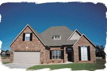 Architectural House Design - Traditional Exterior - Front Elevation Plan #20-228
