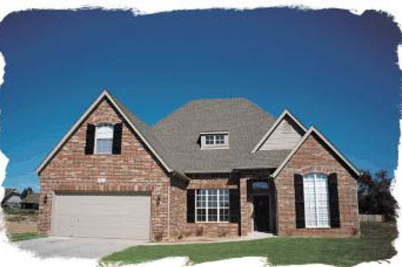 Traditional Exterior - Front Elevation Plan #20-228 - Houseplans.com