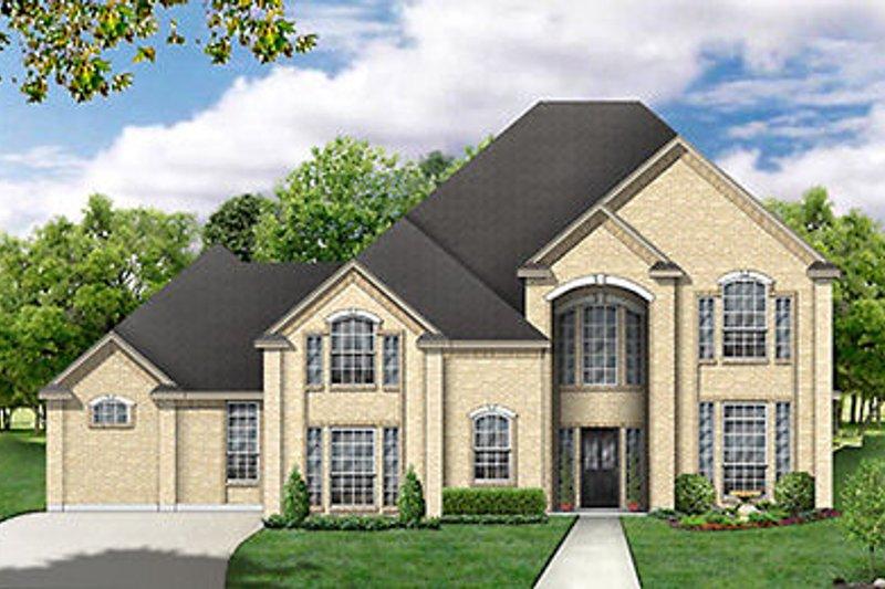 Dream House Plan - European Exterior - Front Elevation Plan #84-256