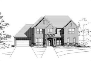 Traditional Exterior - Front Elevation Plan #411-127