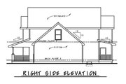 Traditional Style House Plan - 3 Beds 2.5 Baths 2087 Sq/Ft Plan #20-2263 Exterior - Other Elevation