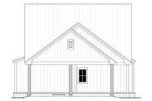 House Blueprint - Farmhouse Exterior - Rear Elevation Plan #430-243