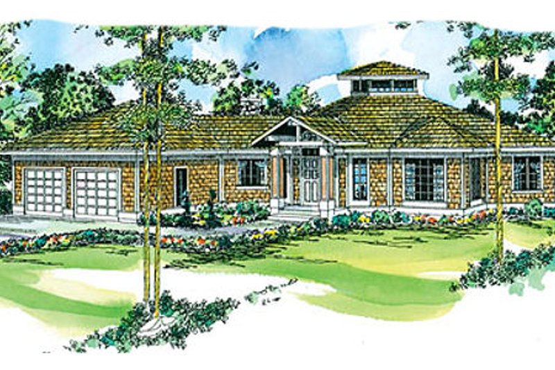 Dream House Plan - Traditional Exterior - Front Elevation Plan #124-146