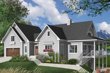 Traditional Exterior - Front Elevation Plan #23-391