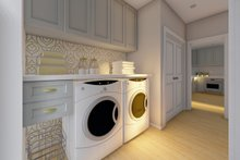 Dream House Plan - Farmhouse Interior - Laundry Plan #126-236