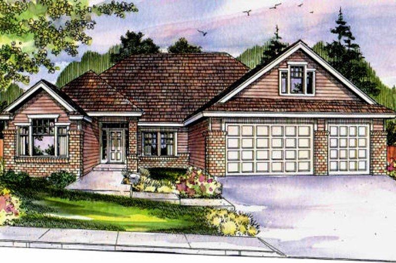 Home Plan - Craftsman Exterior - Front Elevation Plan #124-699