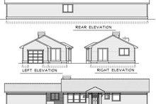 House Design - Ranch Exterior - Rear Elevation Plan #100-450