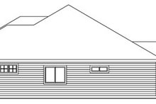 Craftsman Exterior - Other Elevation Plan #124-773