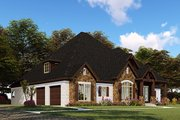 Craftsman Style House Plan - 4 Beds 3.5 Baths 2520 Sq/Ft Plan #923-148 Exterior - Front Elevation