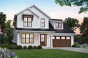 Contemporary Style House Plan - 4 Beds 3 Baths 2055 Sq/Ft Plan #48-1033