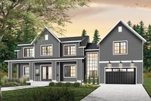 House Plan Design - Farmhouse Exterior - Front Elevation Plan #23-2688