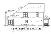 Country Style House Plan - 3 Beds 3 Baths 1905 Sq/Ft Plan #20-1227 Exterior - Other Elevation