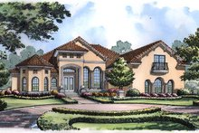 House Design - European Exterior - Front Elevation Plan #417-419