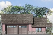 Craftsman Style House Plan - 1 Beds 1 Baths 1847 Sq/Ft Plan #124-1071 Exterior - Front Elevation