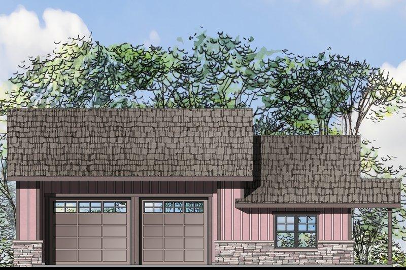 Craftsman Style House Plan - 1 Beds 1 Baths 1847 Sq/Ft Plan #124-1071