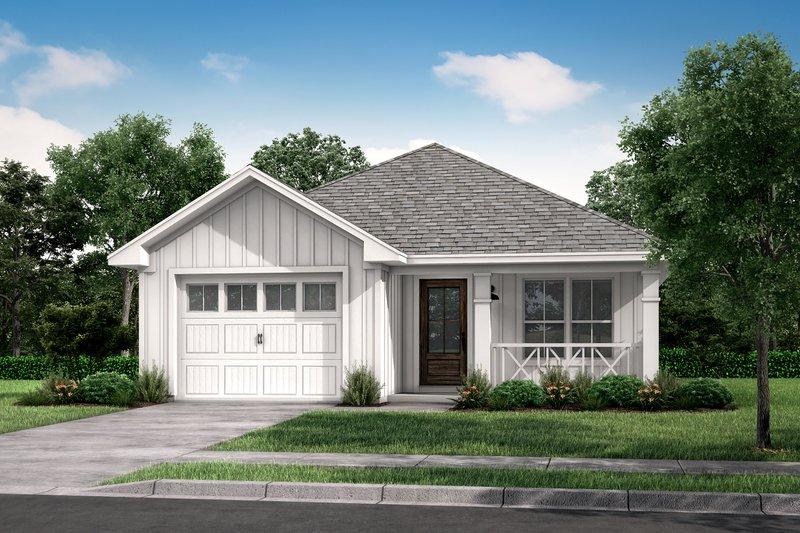 Dream House Plan - Cottage Exterior - Front Elevation Plan #430-39