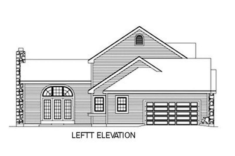 Farmhouse Exterior - Other Elevation Plan #57-135 - Houseplans.com