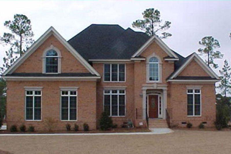 Dream House Plan - European Exterior - Front Elevation Plan #119-130