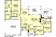 European Floor Plan - Main Floor Plan Plan #430-118