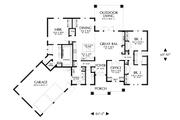Prairie Style House Plan - 3 Beds 2.5 Baths 2175 Sq/Ft Plan #48-1044