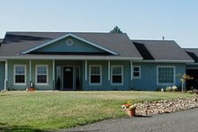 Home Plan - Farmhouse Exterior - Front Elevation Plan #124-369