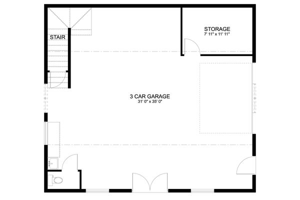 Dream House Plan - Traditional Floor Plan - Main Floor Plan #1060-86