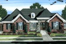 Home Plan - European Exterior - Front Elevation Plan #46-444