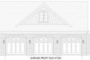 Traditional Style House Plan - 3 Beds 2.5 Baths 3510 Sq/Ft Plan #932-341 Exterior - Other Elevation