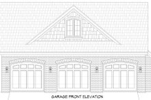 Traditional Exterior - Other Elevation Plan #932-341