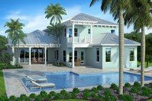 Cottage Exterior - Rear Elevation Plan #938-89