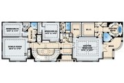 Colonial Style House Plan - 4 Beds 3.5 Baths 5585 Sq/Ft Plan #27-447 Floor Plan - Upper Floor Plan