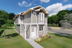 Craftsman Exterior - Front Elevation Plan #126-202