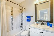 Craftsman Style House Plan - 5 Beds 5.5 Baths 4501 Sq/Ft Plan #17-2444 Interior - Bathroom