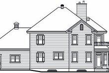 Traditional Exterior - Rear Elevation Plan #23-872